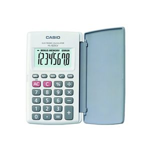 CASIO HL-820LV-WE CEP TİPİ HESAP MAKİNESİ