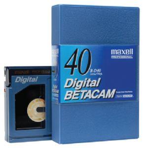 MAXELL B-D40 DIJITAL BETACAM