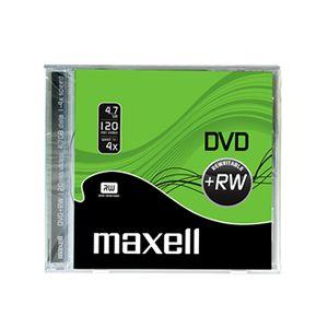 MAXELL DVD+RW 4.7GB 4X 10MM KUTULU TEKLİ - 275526.