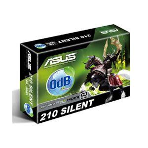 ASUS EN210 SILENT DI V2 1GB 64B 16X DDR3 D-SUB DVI HDMI LP