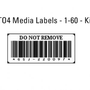 DELL LTO5 MEDIA LABELS