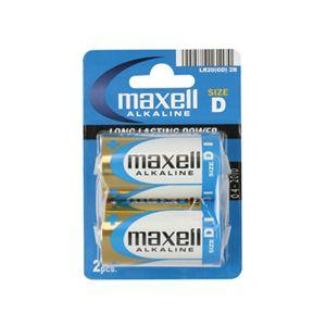 MAXELL LR20 ALKLN BUYUK BOY PIL-2LI BLSTRx10 PKx80