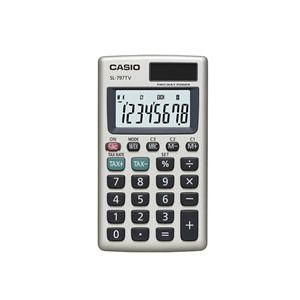 CASIO SL-797TV-GD CEP TİPİ HESAP MAKİNESİ