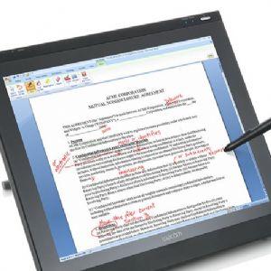 WACOM OFFICE LCD TABLET PL-720
