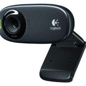LOGITECH C310 SIYAH HD WEBCAM 960-000586