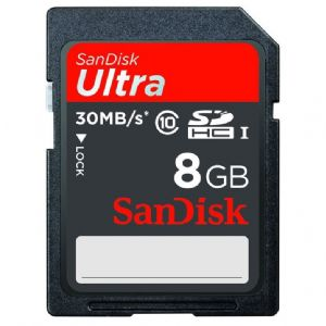 8GB SD KART ULTRA C10 SANDISK SDSDU-008G-U46