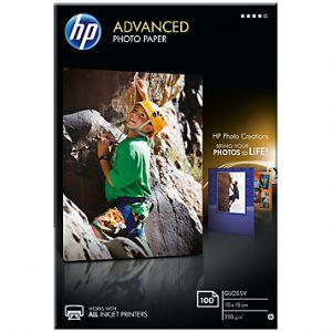 HP Q8692A AVANTAJLI PARLAK FOTOGRAF KAGIDI-100 YAPRAK/10 X 15 CM KENAR BOSLUKSUZ