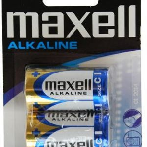 UK_MAXELL LR14 ALKLN ORTA (2LI BLSTR) UK