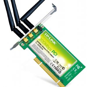 TP-LINK TL-WN951N 300Mbps 3x2dBi KABLOSZ PCI KART