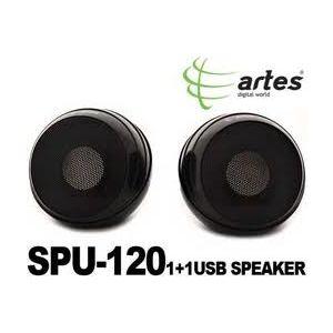 ARTES SPU-120 1.1 MİNİ STEREO USB HOPARLÖR SİYAH