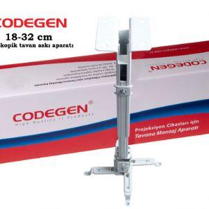 CODEGEN H18 18-32CM TELESKOPİK TAVAN ASKI APARATI