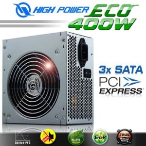 HIGH POWER ECO AKTIF PFC POWER SUPPLY 400W HPE-400-A12S