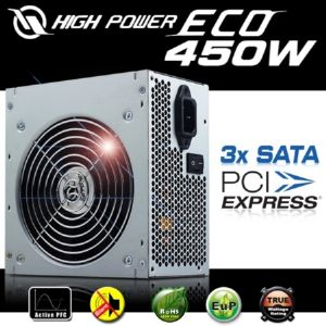 HIGH POWER ECO AKTIF PFC POWER SUPPLY 450W HPE-450-A12S