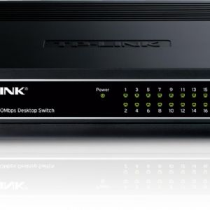 TP-LINK TL-SF1016D 16 PORT 10/100 SWITCH