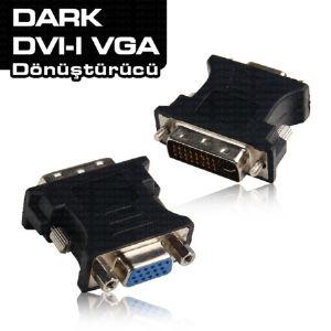 DARK DVI - VGA ÇEVİRİCİ ADAPTÖR DK-HD-ADVIXVGA