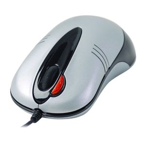 A4 TECH N50F-2 V-TRACK OPTIK USB GÜMÜŞ MOUSE