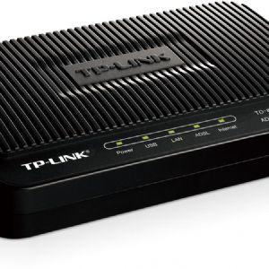 TP-LINK TD-8817 1 PORT+USB 24Mbps MODEM ROUTER
