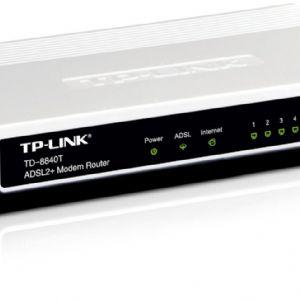TP-LINK TD-8840T 4 PORT 24Mbps MODEM ROUTER
