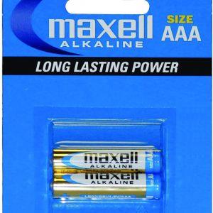 MAXELL LR03 ALKLN INCE KALEM PIL-2LI BLSTRX12 PKX4