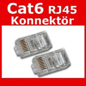 CODEGEN CAT-6 RJ-45 KONNEKTÖR ALTIN KAPLAMA 100LU