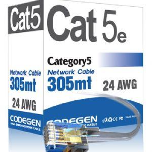 CODEGEN CAT-5E UTP 305M 24AWG CCA KABLO