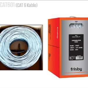 FRISBY CAT6 UTP KABLO 305M 23AWG GRI