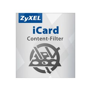 ZYXEL ZYWALL 5 ICARD CONTENT FILTER SILVER 1 YIL