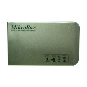 320GB MIKROBOX 2.5 8MB MASCOT USB 2.0GÜMÜŞ