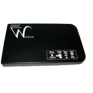 WINDISK 2.5INCH USB SATA ALUMINYUM HDD KUTUSU K25WIN SİYAH