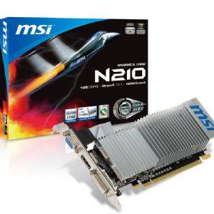 MSI N210-MD1GD3H-LP GF210 1GB 64B DDR3 VGA DVI HDMI
