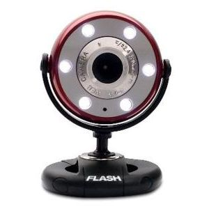 FLASH S300E-K PC USB KIRMIZI WEBCAM