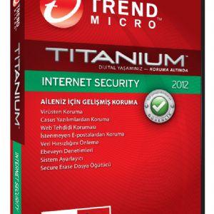 TRENDMICRO TITANIUM INT.SEC 2012 1 KULLANICI
