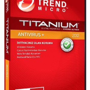 TRENDMICRO TITANIUM ANTİVİRÜS 2012 1 KULLANICI
