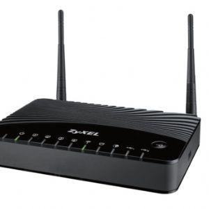 ZYXEL P-660HNU-F1 ADSL2+ 4 PORT 300Mbps ADSL VE FİBER İNTERNET UYUMLU KABLOSUZ MODEM