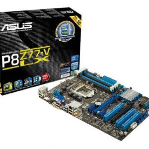 ASUS P8Z77-V LX Z77 DDR3 ATX VGA DVI HDMI GLAN SATA3 USB3 ANAKART
