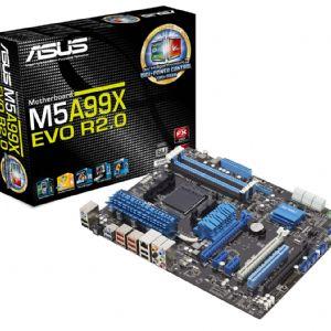 ASUS M5A99X EVO R2.0 990X DDR3 ATX GLAN SATA3 USB3 ANAKART