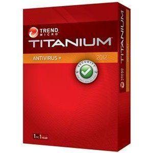 TRENDMICRO TITANIUM ANTIVIRUS+ 2012 1 KULL. ZARF