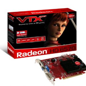 VTX HD6570 1GB 128B DDR3 VGA DVI HDMI