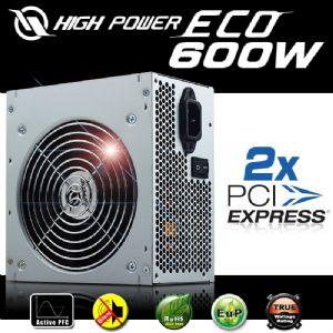 HIGH POWER ECO AKTIF PFC POWER SUPPLY 600W HPE-600-A12S