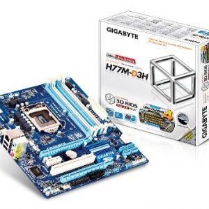 GIGABYTE H77M-D3H mATX DDR3 VGA SES GLAN USB3 16X