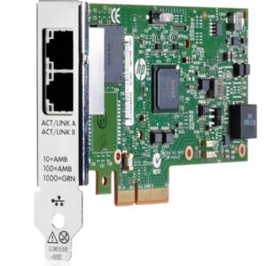 HP 652497-B21 361T PCI-E DUAL PORT GIGABIT ETHERNET ADAPTER