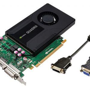 PNY QUADRO VCQK2000-PB 128B 2GB GDDR5 64X 16X