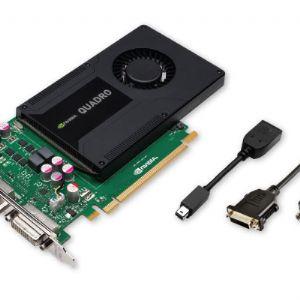 PNY QUADRO VCQK2000D-PB 128B 2GB GDDR5 64X 16X