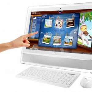 MSI AIO 23.6 AE2410G-256XTR i3-2370M 4G 1TB DOS GT630M/2G Dokunmatik Beyaz