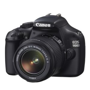 CANON EOS 1100D 12MP 2.7 LCD EKRAN 18-55 DC III DİJİTAL SLR KIT SİYAH FOTOĞRAF MAKİNESİ