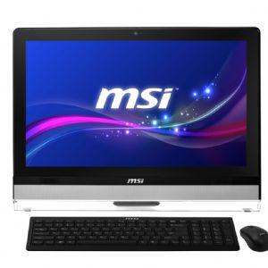 MSI AIO 21.5 AE2212G-010TR i3-3220 4G 1TB W8 GT630M/2G 10p Dokunmatik IPS Siyah