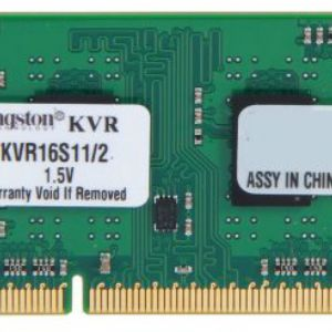 2GB DDR3 1600MHz KINGSTON KVR16S11S6/2 NB CL11