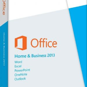 MS OFFICE 2013 HOME AND BUSINESS İNGİLİZCE KUTU T5D-01599