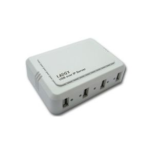 LADOX LD-3154  4 PORT USB IP&MULTI PRINT SERVER