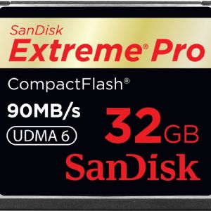 32 GB CF KART 160Mb/s EXT PRO SANDISK SDCFXPS-032G-X46